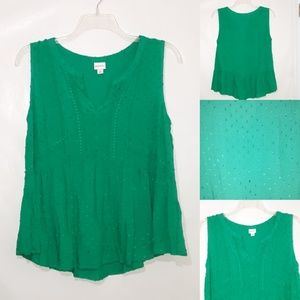 Merona emerald tank top